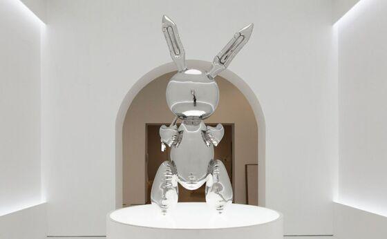 Mnuchin's Art-Dealer Dad Nabs $91 Million Record Koons Bunny