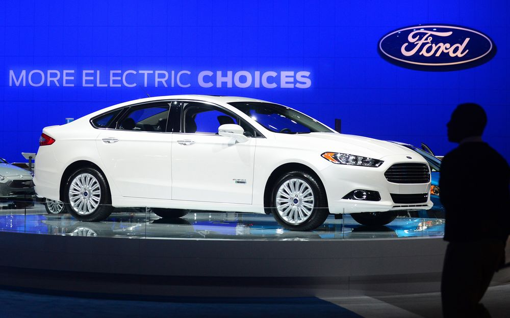 Us Transport La Auto Show A 2017 Ford Fusion