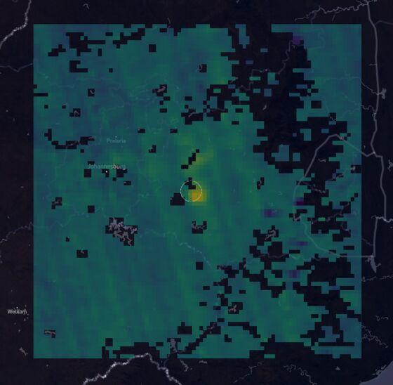 Large Methane Leak Detected Over South Africa Coal MiningRegion