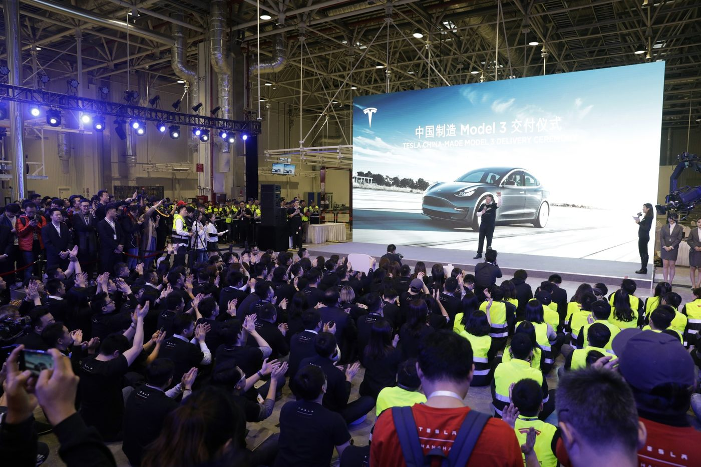 Elon Musk Opens Tesla's Chinese Plant As Era Of Real Competition Begins