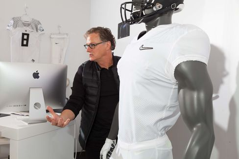 Todd Van Horne, creative director for Nike football, explains how designers made NFL uniforms lighter by stripping out seams.