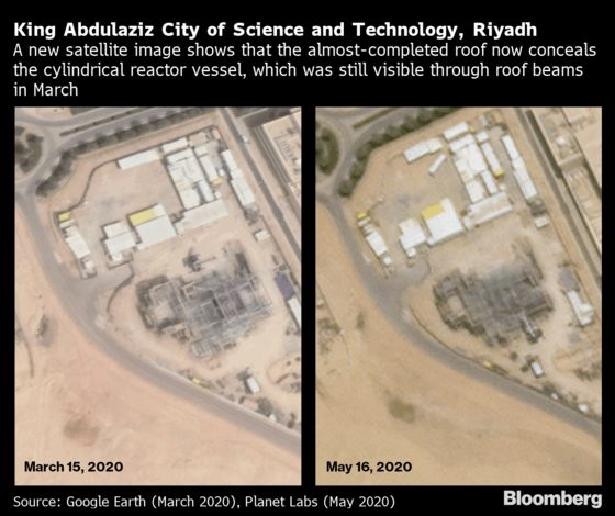 Saudi Atomic Reactor Progresses With Inspectors Still Frozen Out