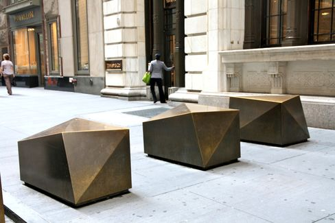 Wall St. Barriers