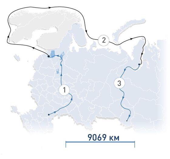 Russia Sends Refinery Equipment on Epic 9,000-Kilometer Voyage