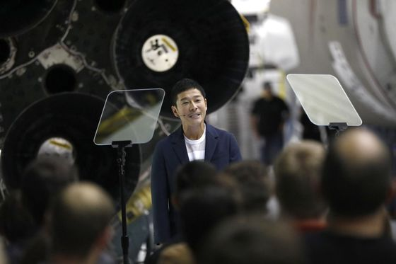 Musk Names Japanese Billionaire for 'Dangerous Mission' to Moon