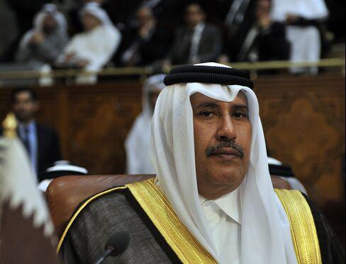 Qatar's PM Sheikh Hamad bin Jassim bin Jabor al-Thani