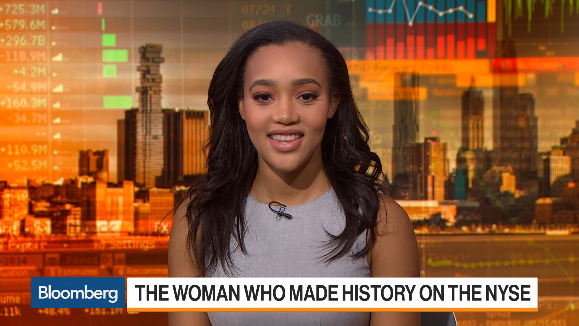 How This Woman Made History on the NYSE