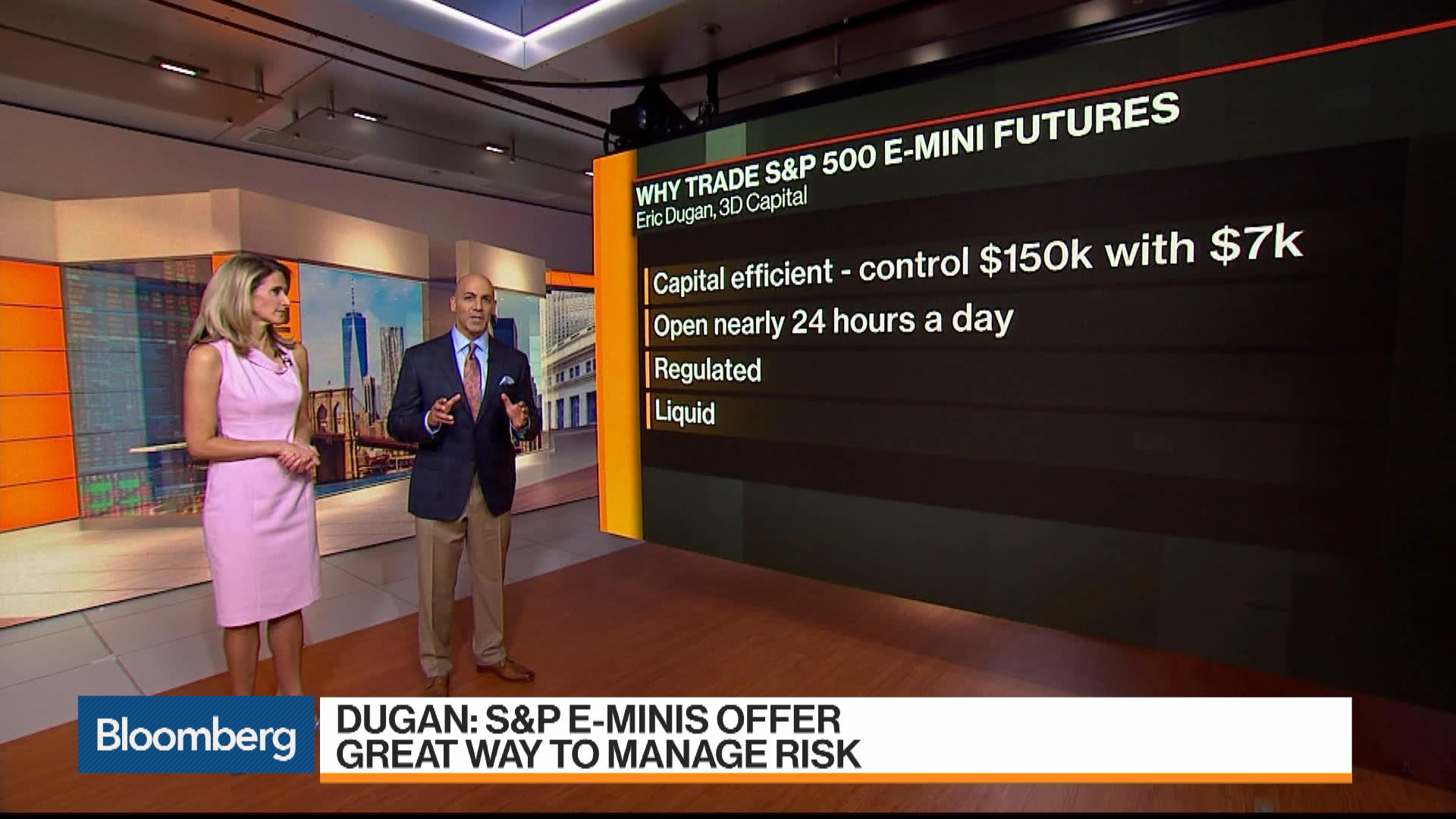 S&P E-Mini Futures Offer Great Way to Manage Risk: Eric Dugan