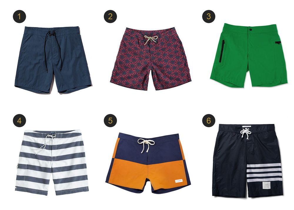 35bab571ce2 Best New Swimsuits for Men for Summer 2016 - Bloomberg