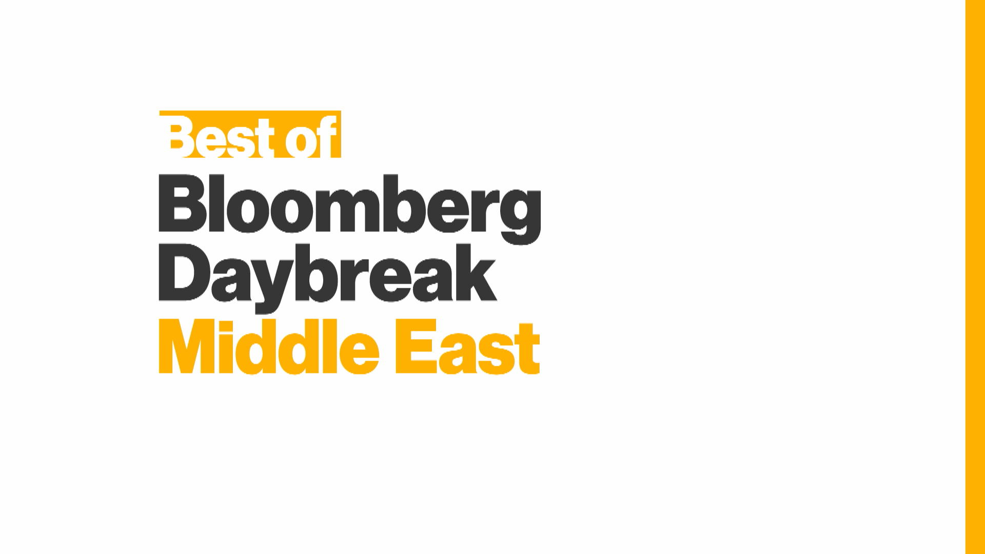 8cf94a3b6a0 'Best of Bloomberg Daybreak: Middle East' Full Show (02/21/2019) – Bloomberg