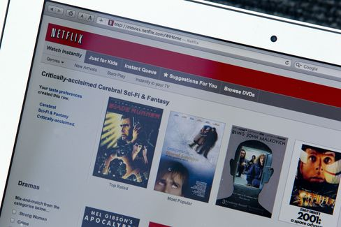 Netflix Gains After Satisfaction Survey: San Francisco Mover