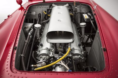 Wanted: one caring owner for a cherry-red 1954 Ferrari racer