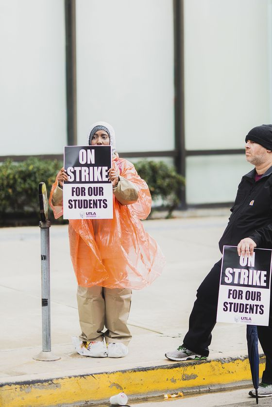 Los Angeles Teachers Strike for Higher Wages and Smaller Classes