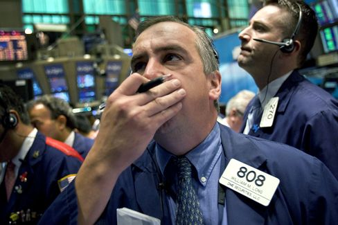 U.S. stocks tumbled