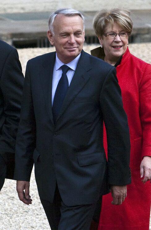 France's Prime Minister Jean-Marc Ayrault