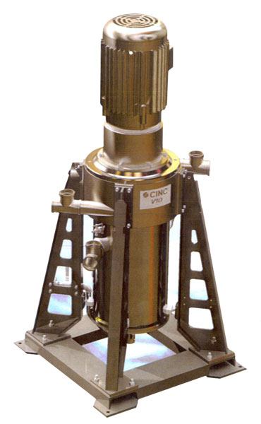 The V10 oil-separator device financed by actor Kevin Costner