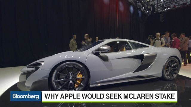 Apple-Target McLaren Is a Tech Company Disguised as a Carmaker