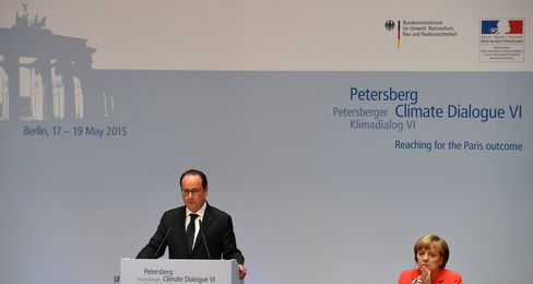 President Hollande And Chancellor Merkel
