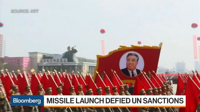 North Korea Launches Ballistic Missile in New Test
