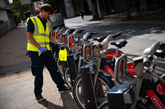 London Cycle-Rental Program Doubles New Riders Amid Virus Fears