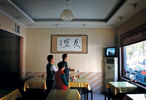 At a Beijing restaurant in November, all eyes were on Xi