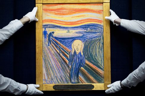 Record Art Sale Boosts Orders for 'The Scream' Poster
