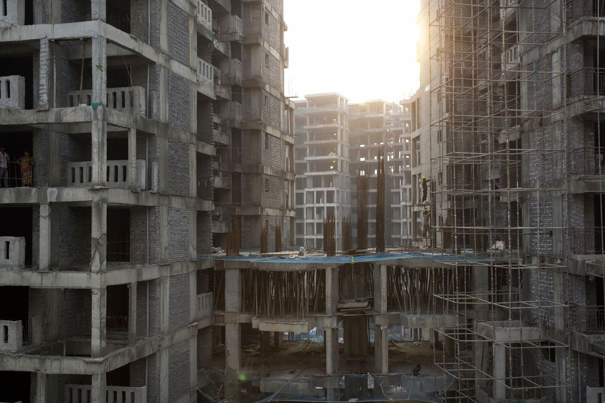 Goliaths of India Property Rise as Slowdown Swallows Small Firms