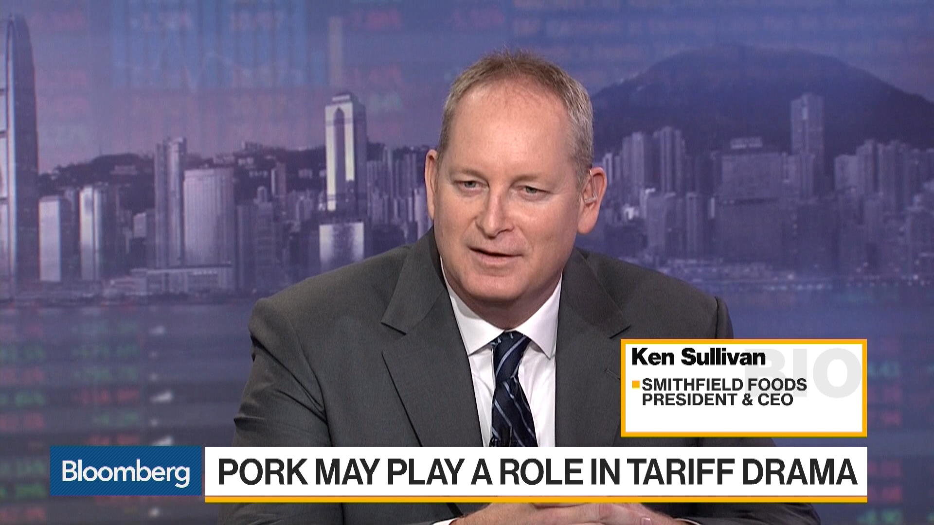 Smithfield Foods CEO Calls Dialogue Around Trade Issues