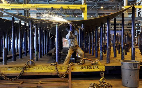 Philadelphia Area Manufacturing Contracts for Fifth Month
