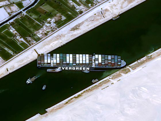 Freight Broker Sees 'Panic Mode' Starting With Suez Still Blocked