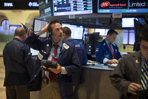 U.S. Stocks Decline Before Speech From Federal Reserve's Evans