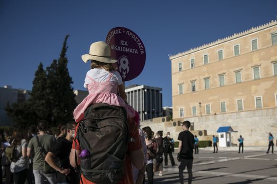Abuse Victims Put in Harm's Way by New Greek Bill, Opponents Say