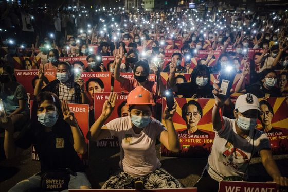 Myanmar's Suu Kyi Charged With Bribery, Faces 15 Years In Prison