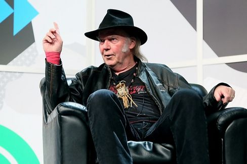 Music Snobs, Neil Young Has a Product for You