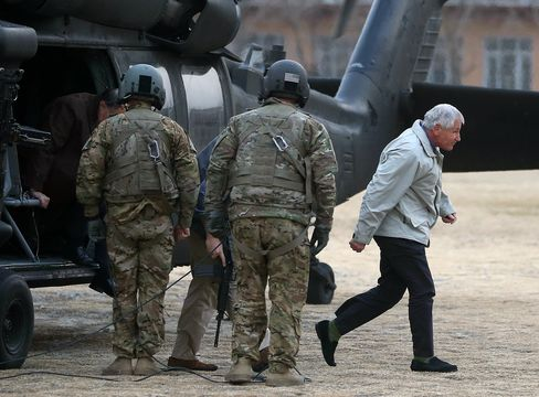U.S. Defense Secretary Chuck Hagel