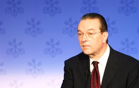 Former UBS Chief Executive Officer Oswald Gruebel