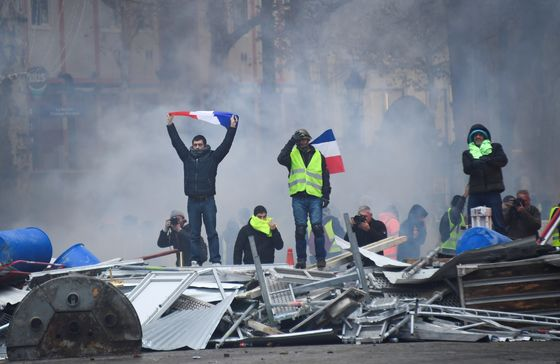 French Grassroots Protest Is Macron's Biggest Challenge So Far