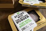 Beyond Meat Inc. plant-based burger patties