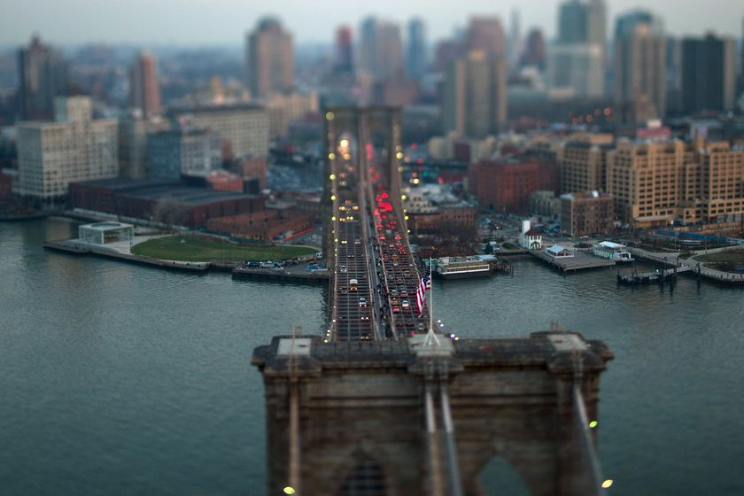 Aerials Of New York And New Jersey As Stocks, Treasuries Fall On Fed Speculation