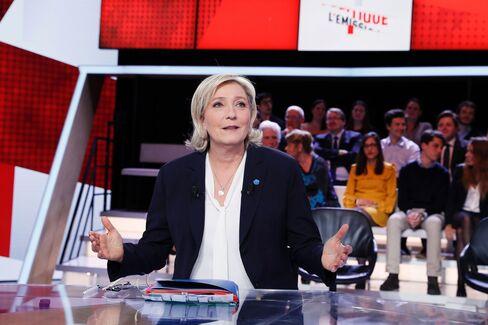 Marine Le Pen on Feb. 9.
