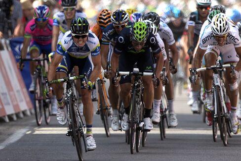 Cyclist Simon Gerrans