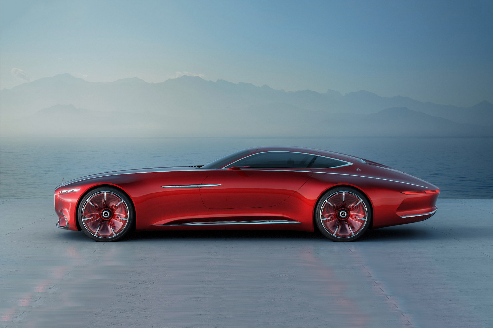 The Mercedes-Maybach Vision 6 Concept Unveiled at Pebble Beach ...