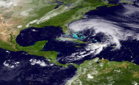 Allstate Among Property Insurers Pressured by 'Frankenstorm'