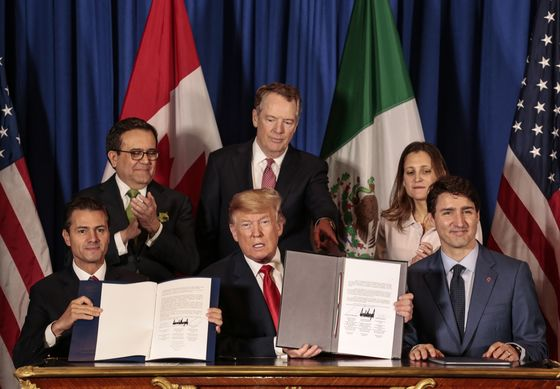 Trump's Combative Side Poses Risk as Democrats Hold Key to USMCA