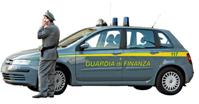 Italian police are stalking luxury car owners to make sure their taxes are paid