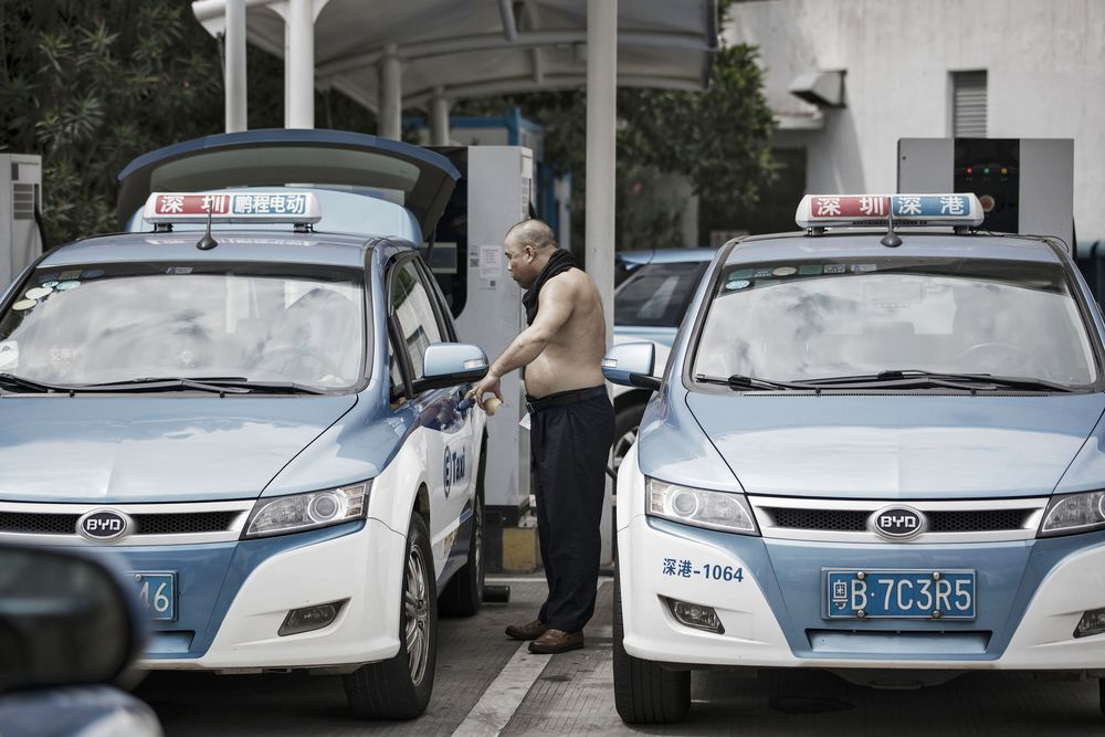 China's BYD, Backed by Buffett, Is Losing Its Electric-Car