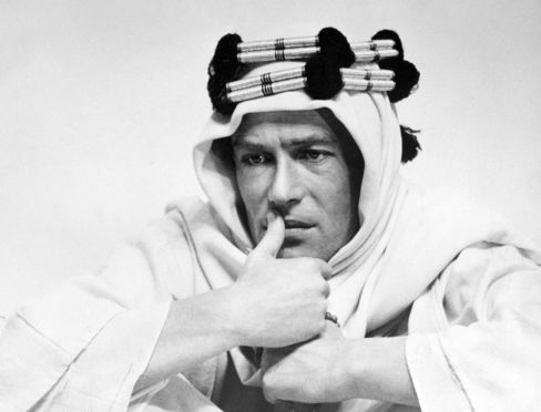 Actor Peter O'Toole in the Film