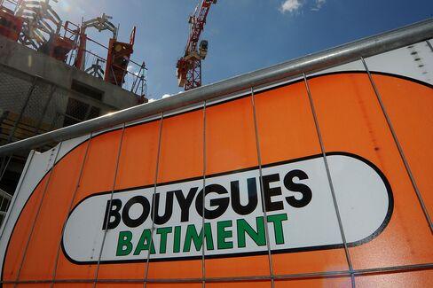 A Bouygues Construction Site In Paris