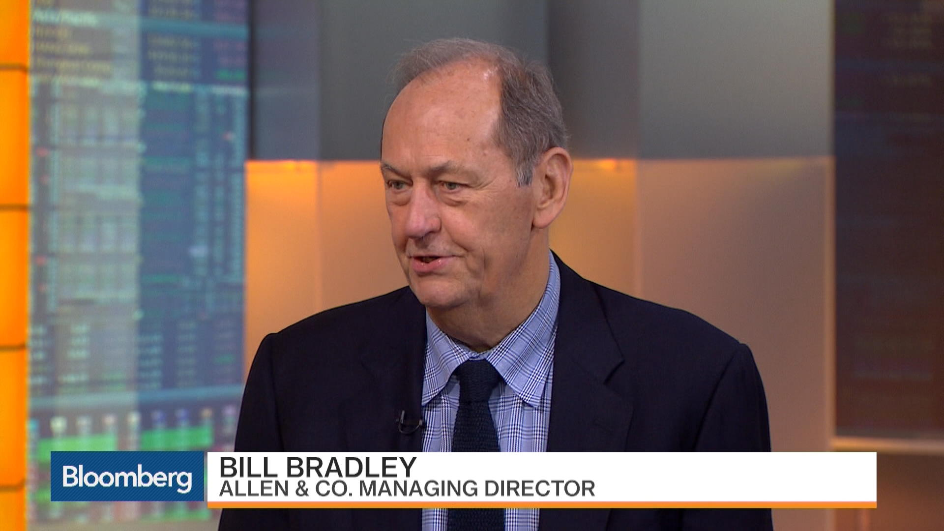 Former Sen Bill Bradley Not Optimistic About Tax Reform – Bloomberg
