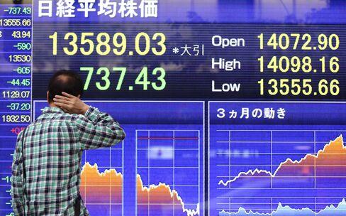 Asian Stocks Rise as Japan's Topix Rebounds on Economic Optimism